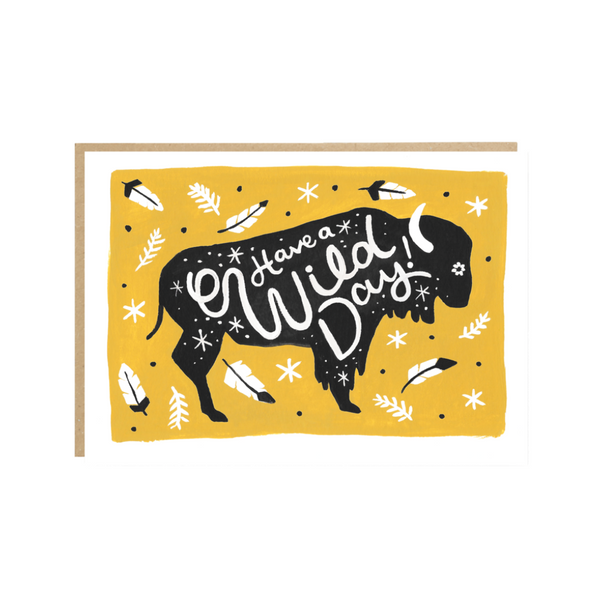 'Have A Wild Day' Birthday Card