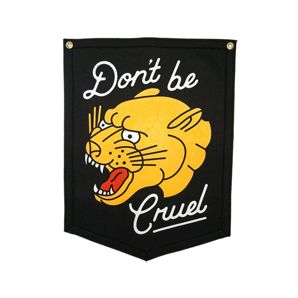Oxford Pennant 'Don't Be Cruel' Camp Flag