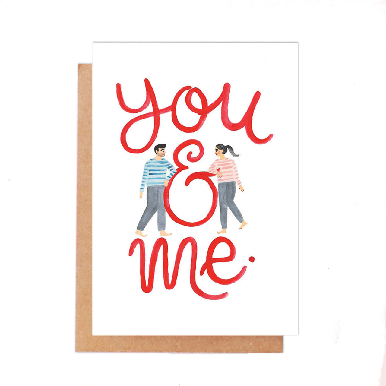 'You & Me' Anniversary Card