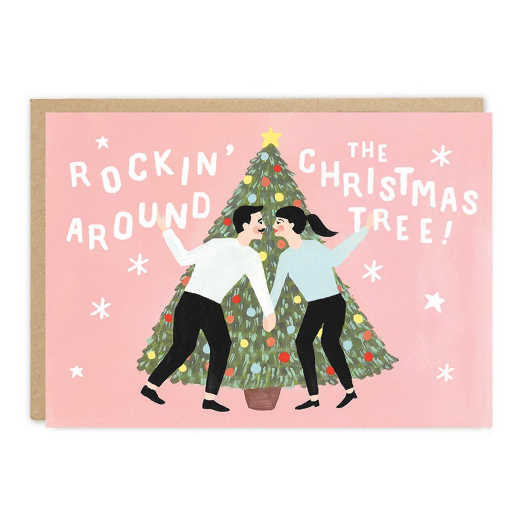 'Rockin Around' Christmas Card