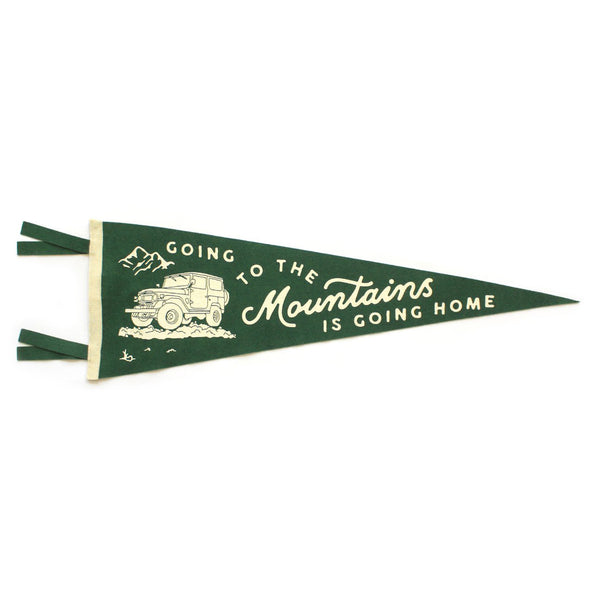 Oxford Pennant 'Going To The Mountains' Pennant