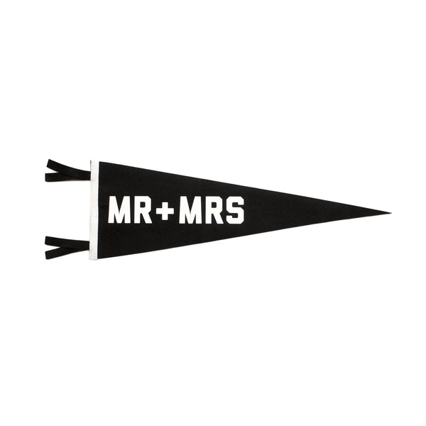 Oxford Pennant 'Mr + Mr's' Pennant