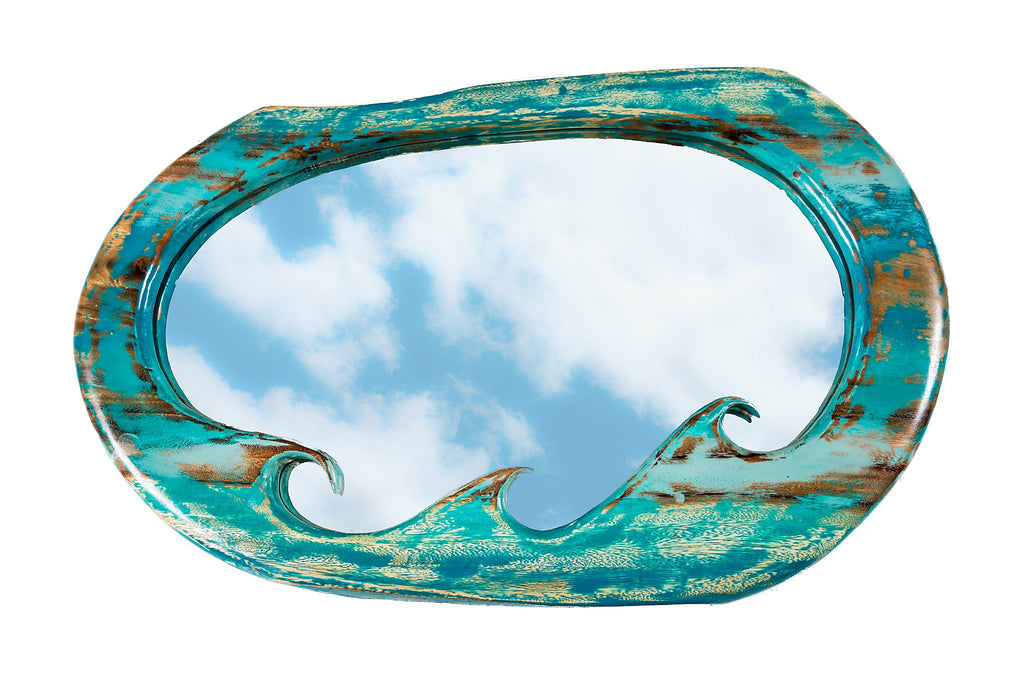 BLUE HAWAII WAVE MIRRORS