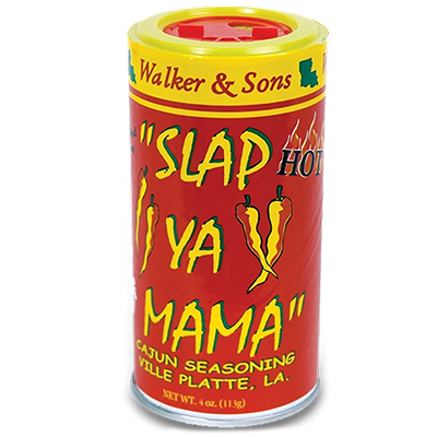 Slap Ya Mama - HOT Cajun Seasoning - 4 oz. Can