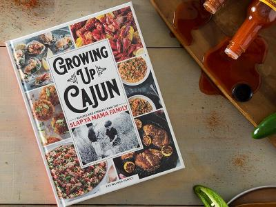 Growing Up Cajun - Cookbook
