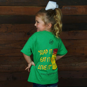 "Load image into Gallery viewer, ""Slap It, Eat It, Love It"" Kids Tee"