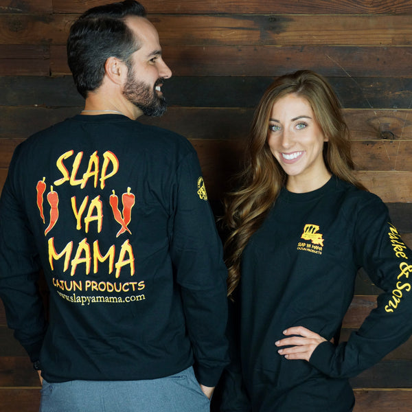 Slap Ya Mama - Long Sleeve Logo T-Shirt