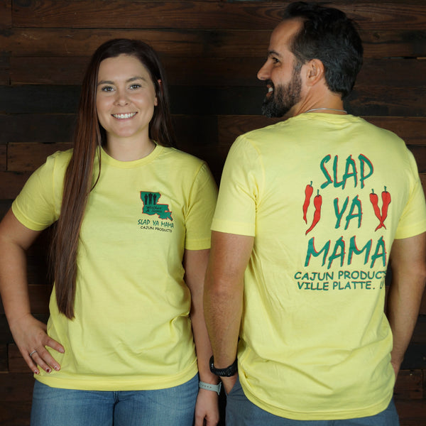 Slap Ya Mama- Yellow Tee