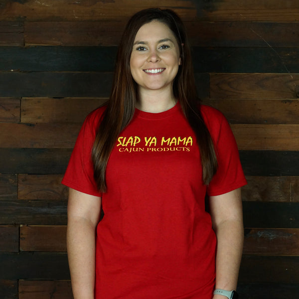 Slap Ya Mama - Red T-Shirt