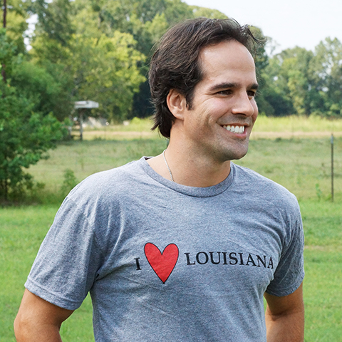 "Slap Ya Mama - ""I Love Louisiana"" T-Shirt"