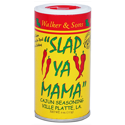 Slap Ya Mama - Original Blend Cajun Seasoning - 4 oz. Can