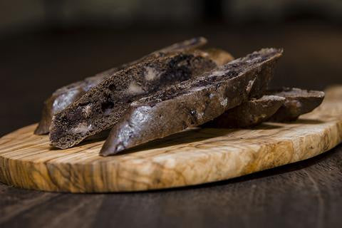Chocolate Cherry Biscotti - Genova's Biscotti. World's Greatest Handmade Biscotti.