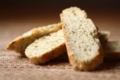 Goat Cheese & Herbs Biscottini - Genova's Biscotti. World's Greatest Handmade Biscotti.