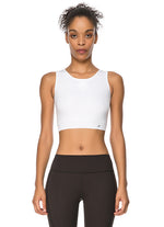 Jerf Utiva White Crop Top