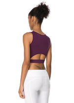 Jerf Utiva Crop Top Mor