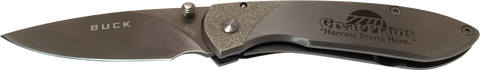 "Great Plains - BUCK® ""NOBLEMAN"" LINERLOCK KNIFE"