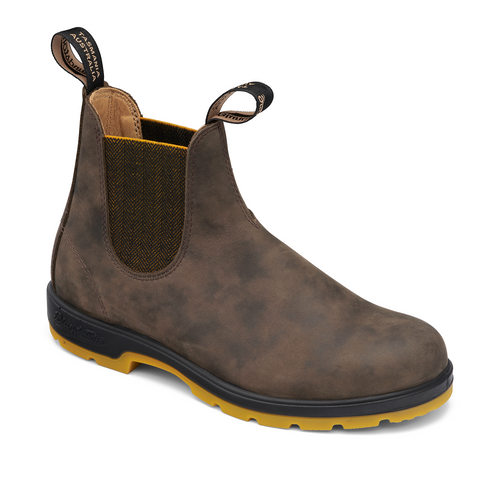 Blundstone 1944 - Classic Rustic Brown Mustard Two-Tone Sole