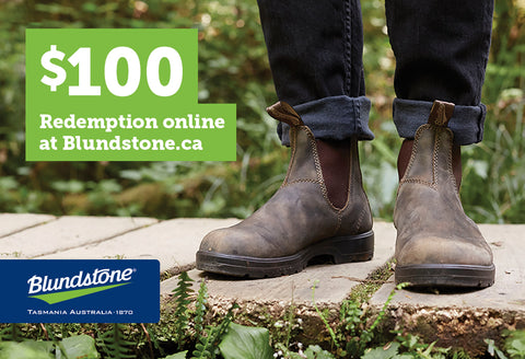 Blundstone Gift Card - $100