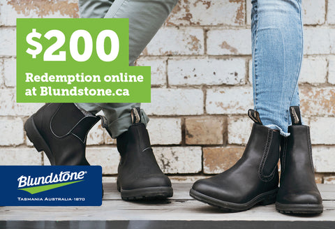 Blundstone Gift Card - $200