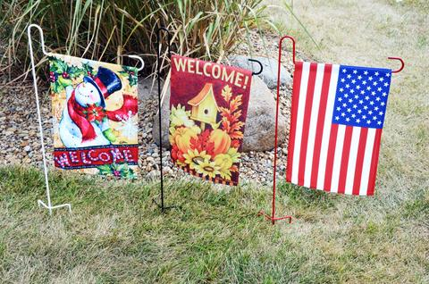 outdoor garden flags