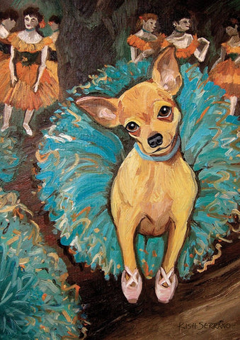Garden Flag-Dogas Chihuahua Dog Flag