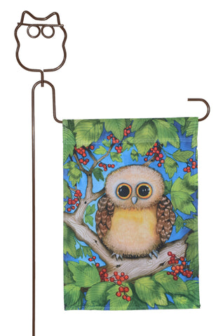 Owl Flag Stand