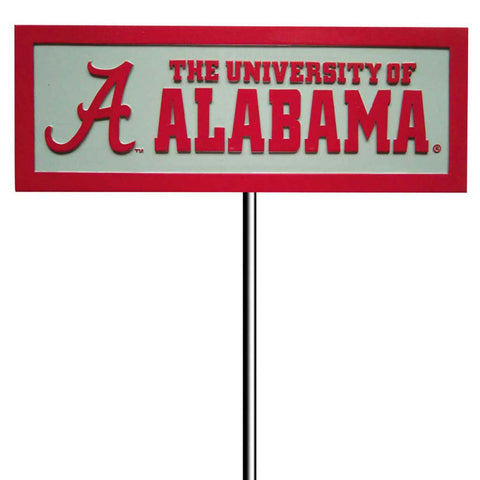 Alabama Crimson Tide BAMA Evergreen Garden Yard Sign w Stake SEC 0134605 - Chicky Dee's Gifts