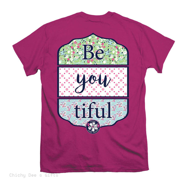 Itsa Girl Thing Short Sleeve Tee  BE YOU TIFUL T-Shirt T Shirt