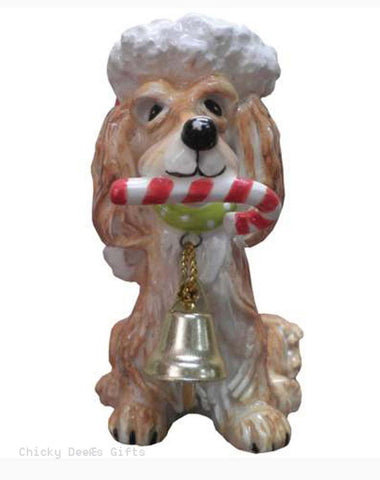 TOP DOGS Caboose The Long Haired Dachshund Christmas ornament Doxie dog - Chicky Dee's Gifts