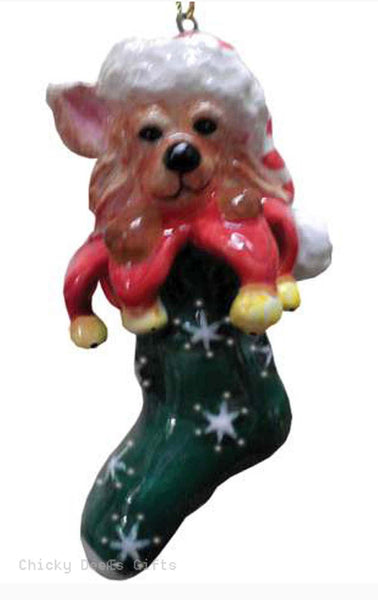 TOP DOGS Calypso The Chihuahua Christmas Ornament 20272 dog - Chicky Dee's Gifts