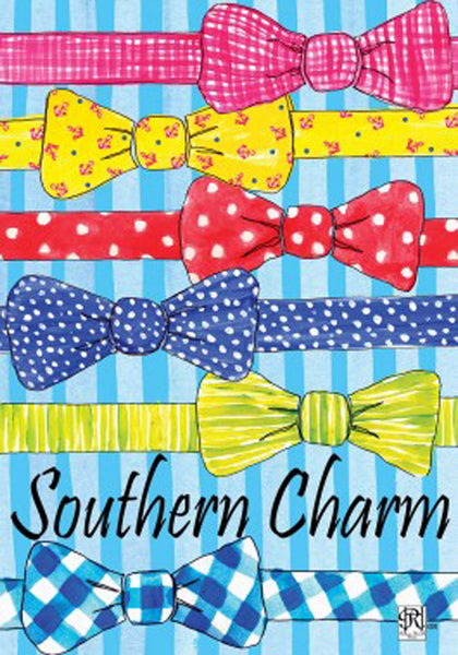 Custom Decor Garden Flag Southern Charm Bow Tie Father Dad Father's Day 2401FM - Chicky Dee's Gifts