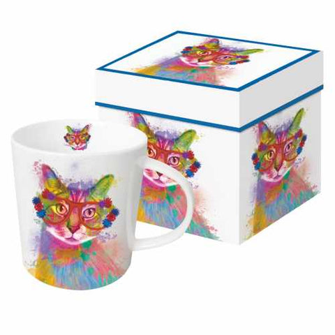 Camilla the Cat Gift Boxed 13.5 oz Mug by Paperproducts Design