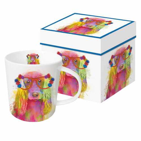 Layla the Irish Setter Gift Boxed 13.5 oz Mug by Paperproducts Design