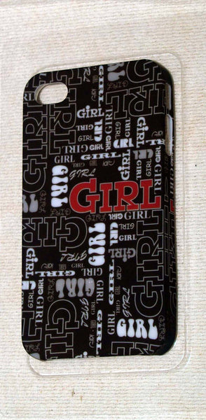 Kangaroo Lab Ultra Thin iPhone 4 / 4S Case HEY GIRL NEW  Clearance - Chicky Dee's Gifts - 1