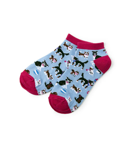 Hatley Women s Ankle Socks CUTE PUPS dog