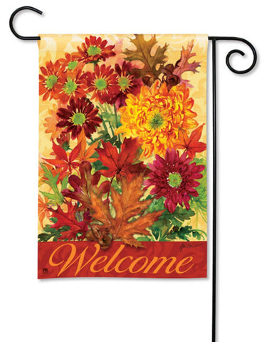 BreezeArt Garden Flag Autumn Bouquet flowers Fall 31036 - Chicky Dee's Gifts
