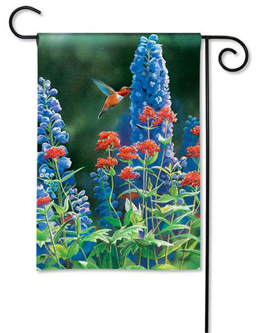 BreezeArt Garden Flag Hummingbird Flight  Bird Spring 31129 - Chicky Dee's Gifts