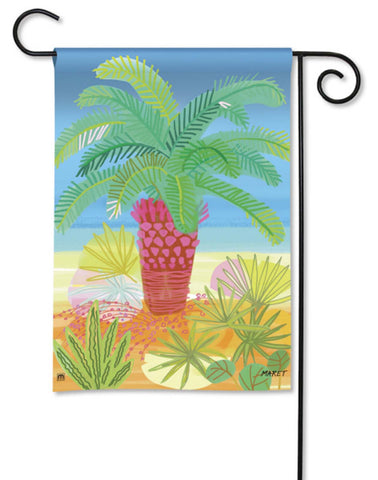 BreezeArt Garden Flag Pretty Palm Tree Summer 32051 - Chicky Dee's Gifts