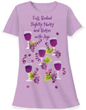 Relevant Products Full-Bodied Wine Sleep Shirt