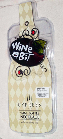 Evergreen Cypress Home Wine A Bit Wine Accessory  Clearance - Chicky Dee's Gifts - 1