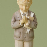 Foundations Communion Boy 4020741 Bible pray  Clearance - Chicky Dee's Gifts - 5