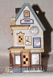 Snow Village New England Village Plainfield Sign Co 4025271  retired   Clearance - Chicky Dee's Gifts - 2