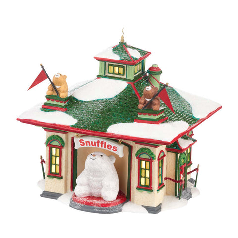 Snow Village North Pole Snuffles Luv-A-Hug Center 4025279 retired   Clearance - Chicky Dee's Gifts - 1