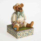 "Jim Shore Easter Bear in Chick Suit 4026267 DISPLAY 4""H  Clearance - Chicky Dee's Gifts - 6"