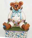 "Jim Shore Easter Bear in Chick Suit 4026267 DISPLAY 4""H  Clearance - Chicky Dee's Gifts - 1"