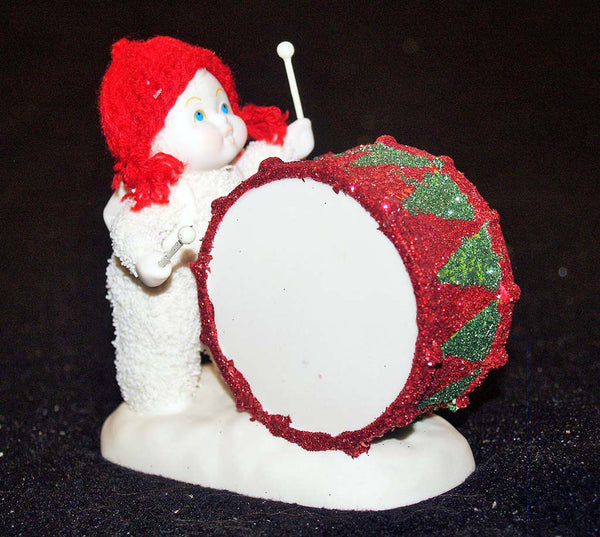 SnowBabies  You've Got The Beat, Baby 4031802 Department 56 drummer Retired   Clearance - Chicky Dee's Gifts - 1