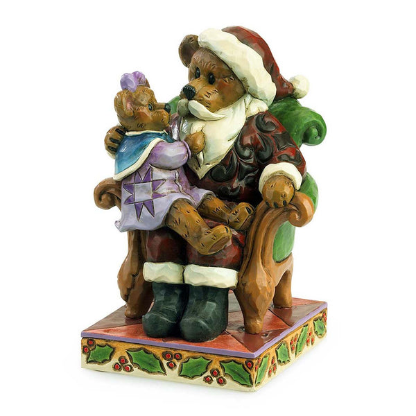 Boyds Jim Shore Simple Santa Bear 4035827 - Chicky Dee's Gifts