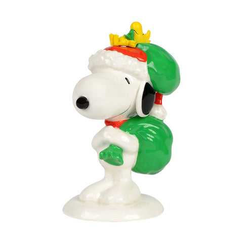 Peanuts Santa s Helpers 4037439 Snoopy Woodstock Christmas Department 56 - Chicky Dee's Gifts