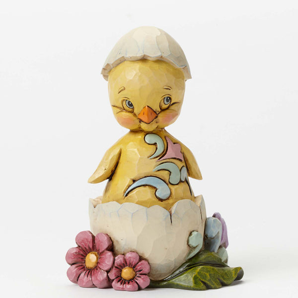 Jim Shore Pint Sized Chick in Egg Shell 4040554 NEW 2014 Easter