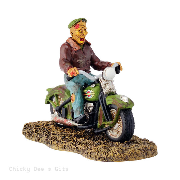 Halloween Village Ghost Rider On The Road 2015 Department 56 4044886 - Chicky Dee's Gifts